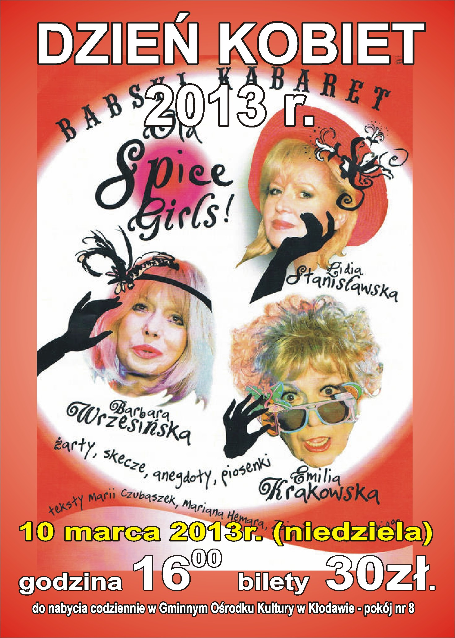 BABSKI KABARET OLD SPIECE GIRLS